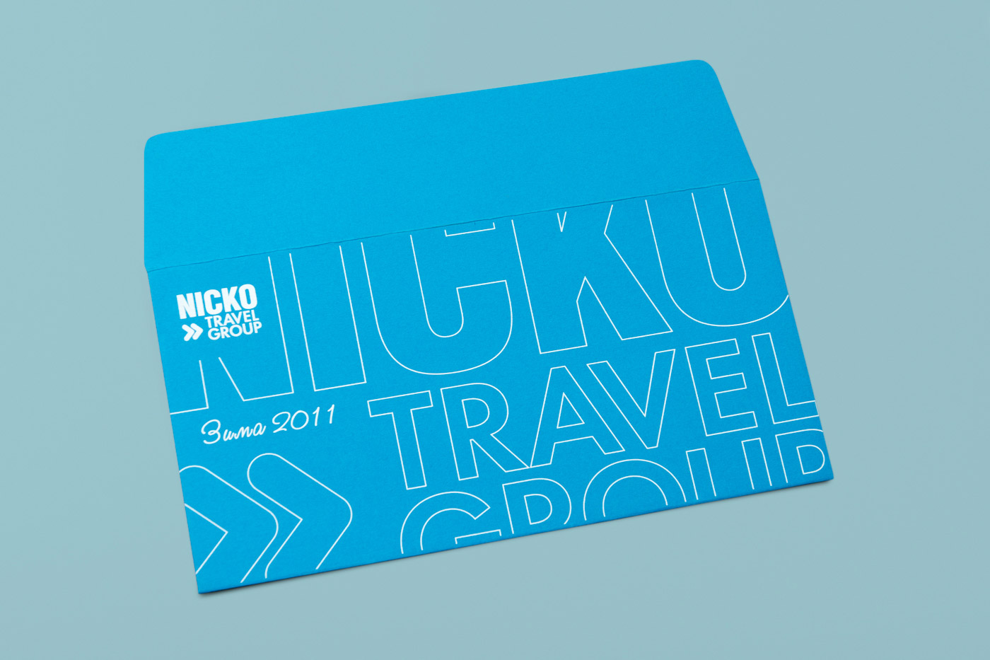 Конверт для nicko travel group