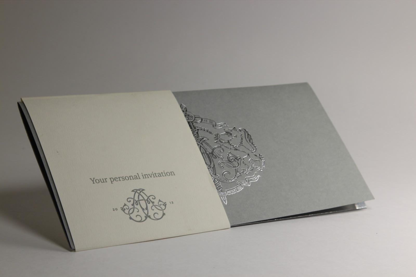 Печать открыток с тиснением